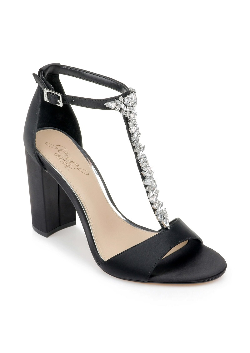 Jewel Badgley Mischka Benton Block Heel Sandal (Women)