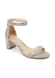 Jewel Badgley Mischka Bradley Ankle Strap Sandal (Women)