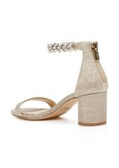 Jewel Badgley Mischka Bradley Ankle Strap Sandal (Women)