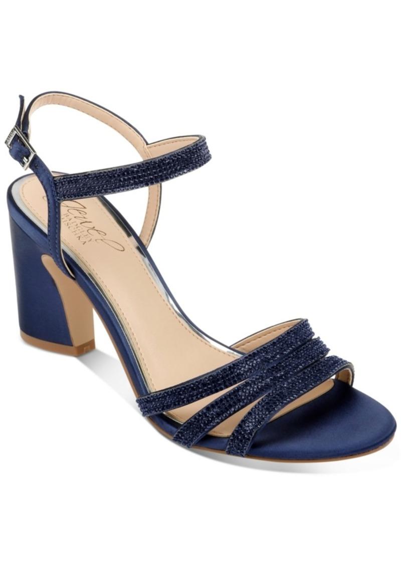 Jewel Badgley Mischka Brighton Evening Shoes Women's Shoes