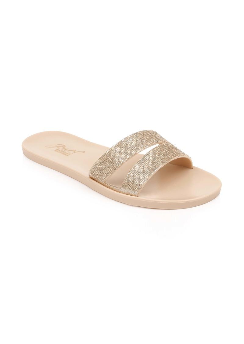 Jewel Badgley Mischka Butterfly Slide Sandal (Women)