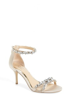 Jewel Badgley Mischka Caroline Embellished Sandal (Women)