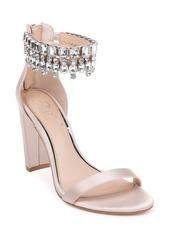 Jewel Badgley Mischka Dancer Ankle Strap Sandal (Women)