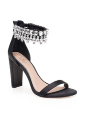 Jewel Badgley Mischka Dancer Ankle Strap Sandal (Women)