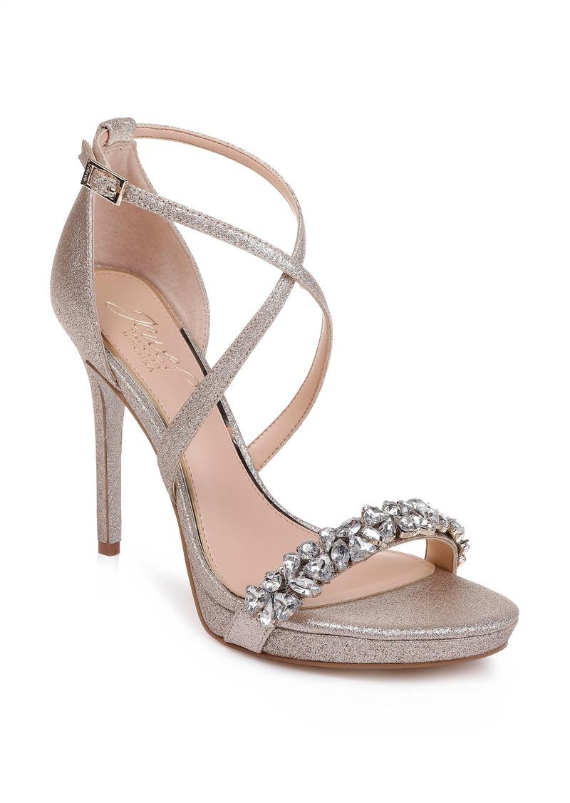 Jewel Badgley Mischka Dany Strappy Sandal (Women)