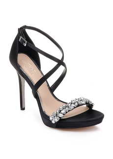 Jewel Badgley Mischka Dany Strappy Sandal (Women)