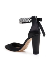 Jewel Badgley Mischka Deirdra Ankle Strap Pump (Women)