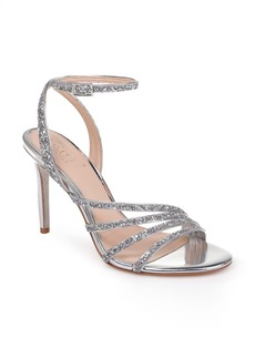 Jewel Badgley Mischka Desiree Glitter Sandal (Women)