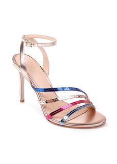 Jewel Badgley Mischka Devonee Sequin Sandal (Women)