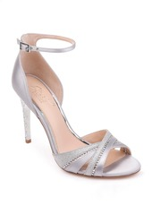 Jewel Badgley Mischka Diablo Embellished Halo Strap Sandal (Women)