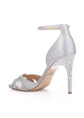 Jewel Badgley Mischka Diablo Embellished Halo Strap Sandal (Women)