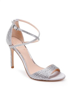 Jewel Badgley Mischka Dillon Crystal Embellished Sandal (Women)