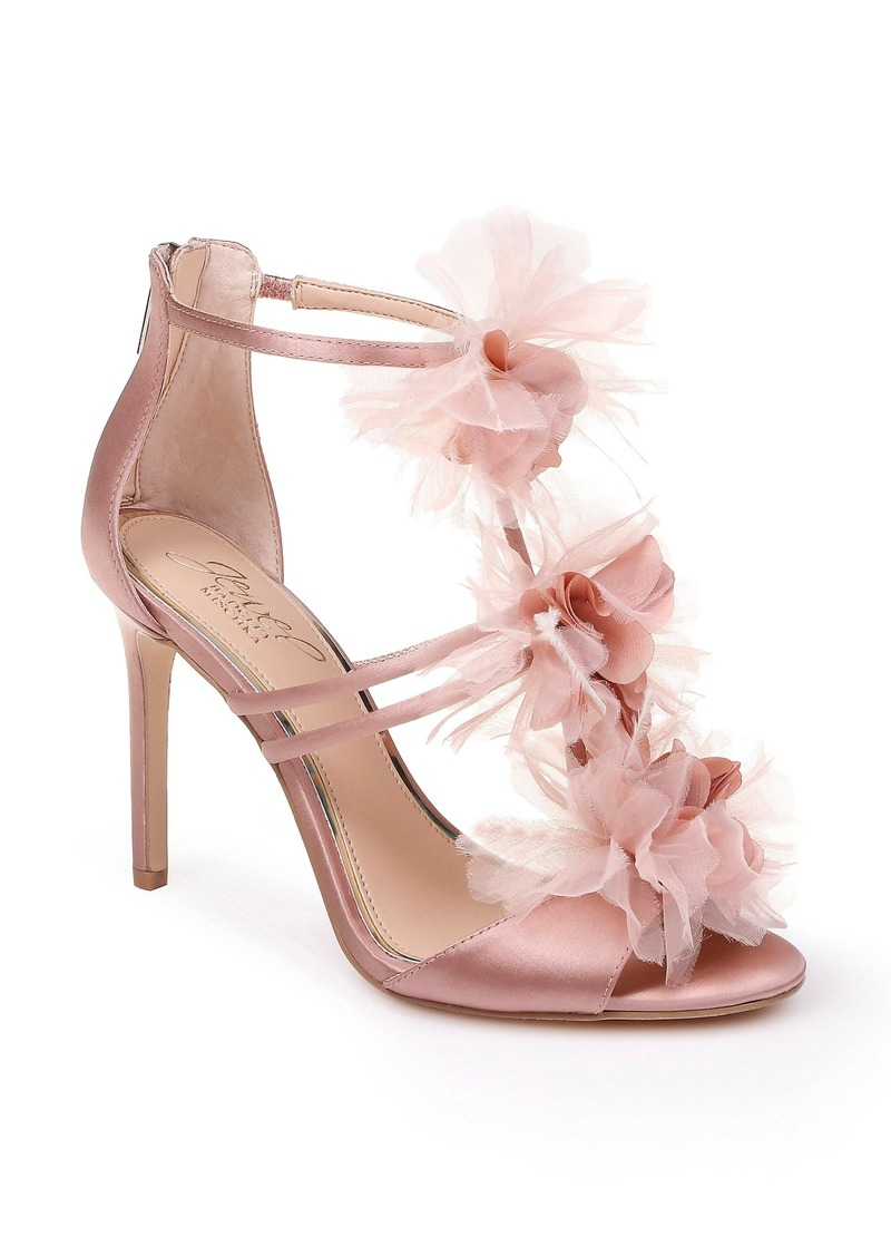 Jewel Badgley Mischka Dustine Appliqué Sandal (Women)