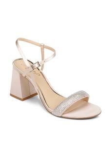 Jewel Badgley Mischka Earlene Block Heel Sandal (Women)