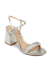Jewel Badgley Mischka Earlene Block Heel Sandal (Women)