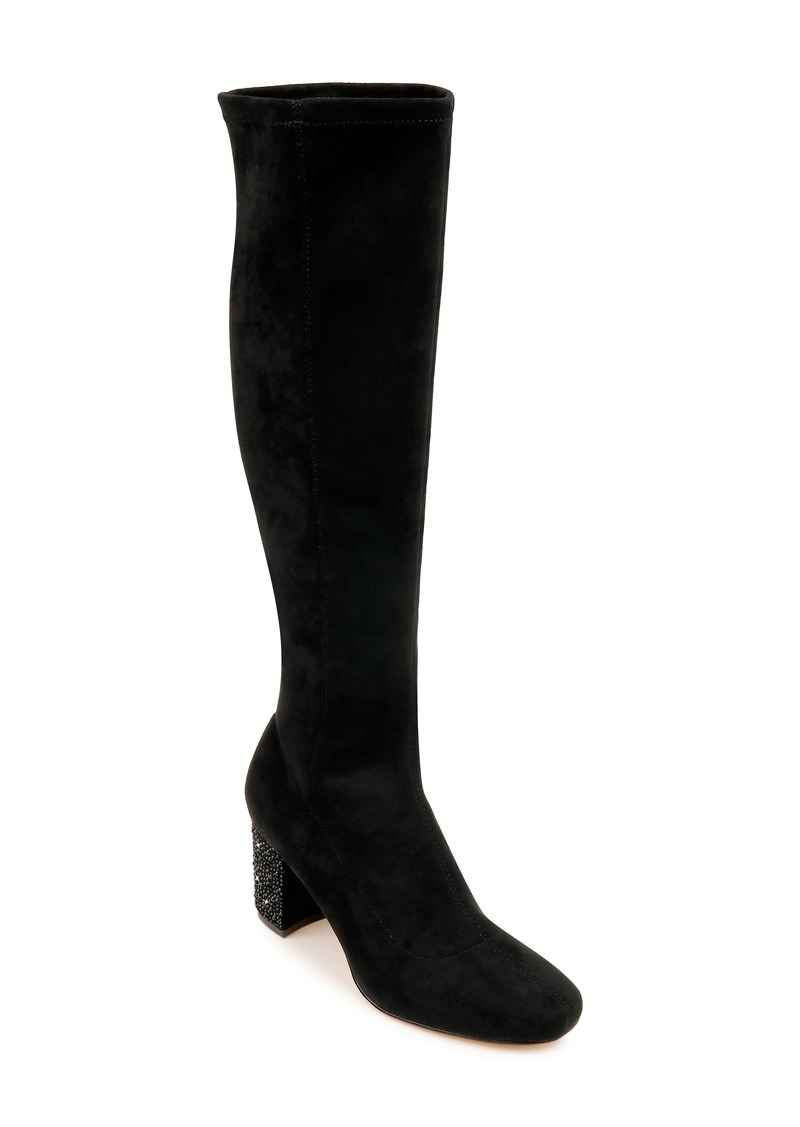 Jewel Badgley Mischka Evalina Knee High Boot (Women)