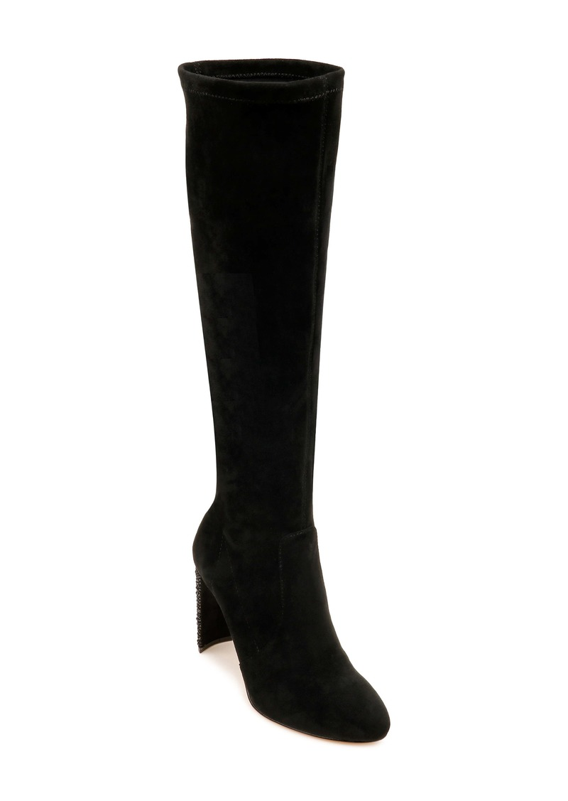 Jewel Badgley Mischka Evangelia Knee High Boot (Women)