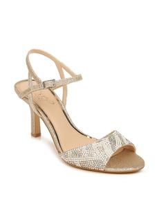 Jewel Badgley Mischka Fawna Embellished Sandal (Women)