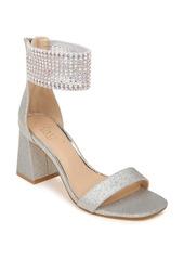 Jewel Badgley Mischka Fennella Crystal Embellished Sandal (Women)