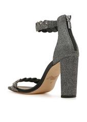 Jewel Badgley Mischka Fionne Glitter Embellished Sandal (Women)