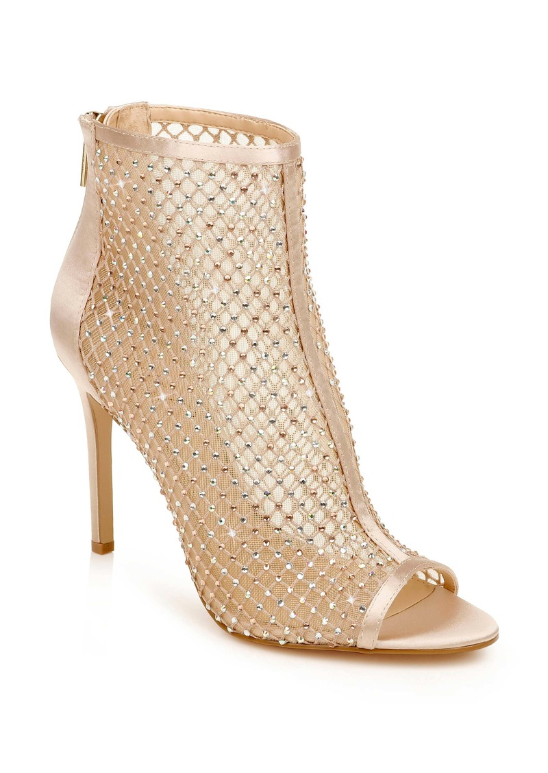 Jewel Badgley Mischka Fiorella Mesh Bootie (Women)