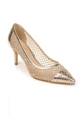 Jewel Badgley Mischka Floria Crystal Embellished Pump (Women0