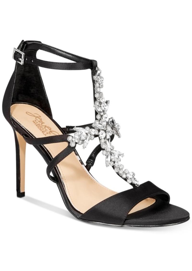 Jewel Badgley Mischka Galvin Evening Sandals, Created for Macy's Women's Shoes