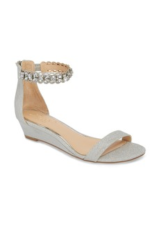 Jewel Badgley Mischka Ginger Wedge Sandal (Women)
