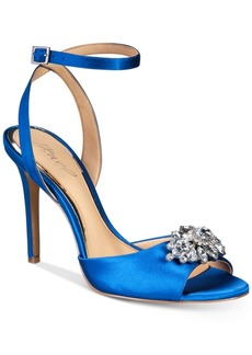 Jewel Badgley Mischka Hayden Embellished Sandals Women's Shoes