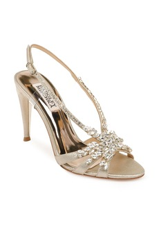 Jewel Badgley Mischka Jacqueline Crystal Embellished Sandal (Women)