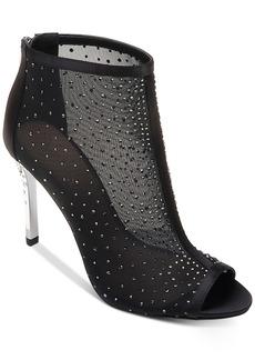 Jewel Badgley Mischka Jodie Peep-Toe Shooties Women's Shoes