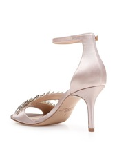 Jewel Badgley Mischka Kailee Embellished Ankle Strap Sandal (Women)