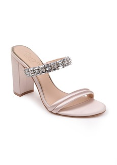 Jewel Badgley Mischka Katherine Embellished Sandal (Women)