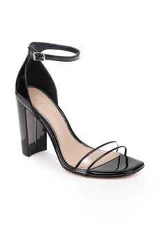 Jewel Badgley Mischka Keshia II Clear Ankle Strap Sandal (Women)