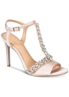 Jewel Badgley Mischka Maxi Evening Sandals Women's Shoes