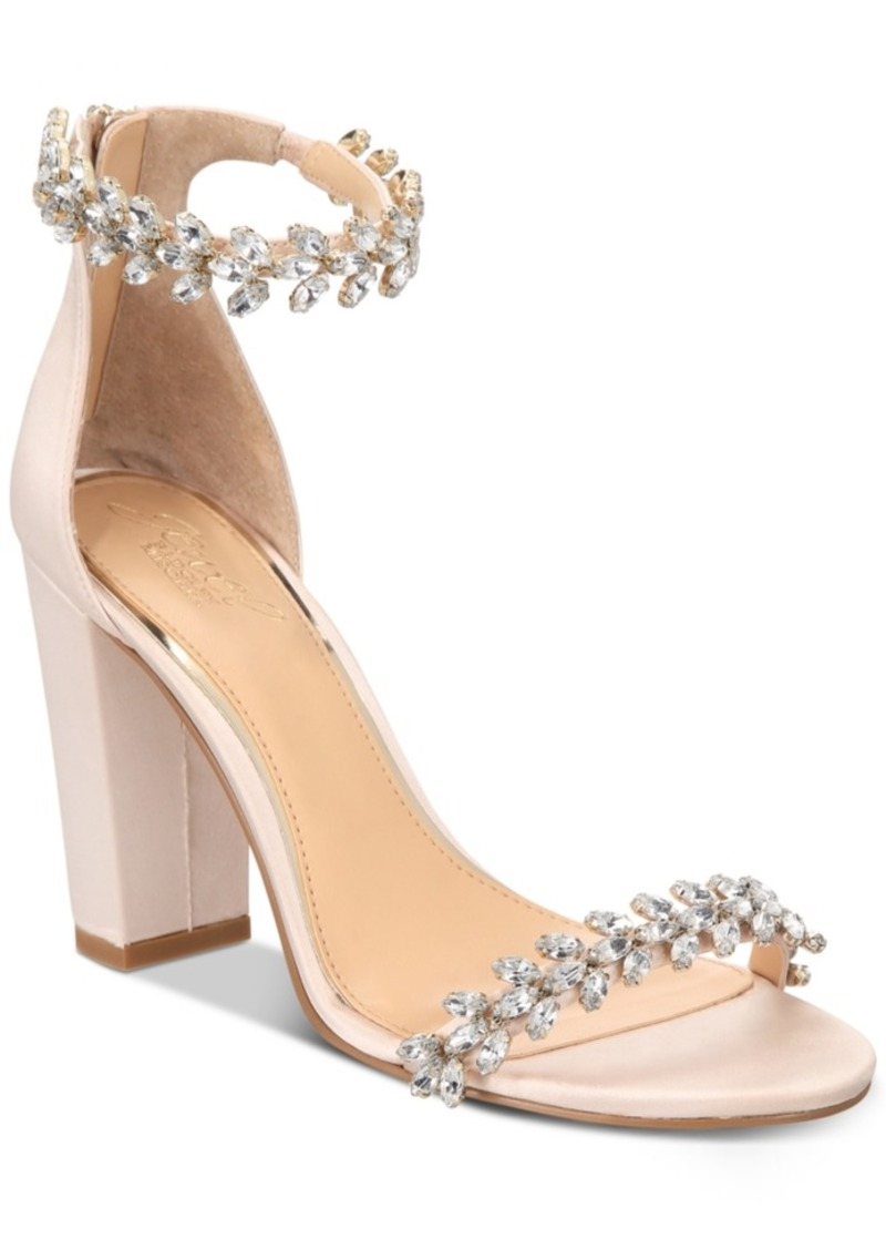 Jewel Badgley Mischka Mayra Evening Sandals Women's Shoes