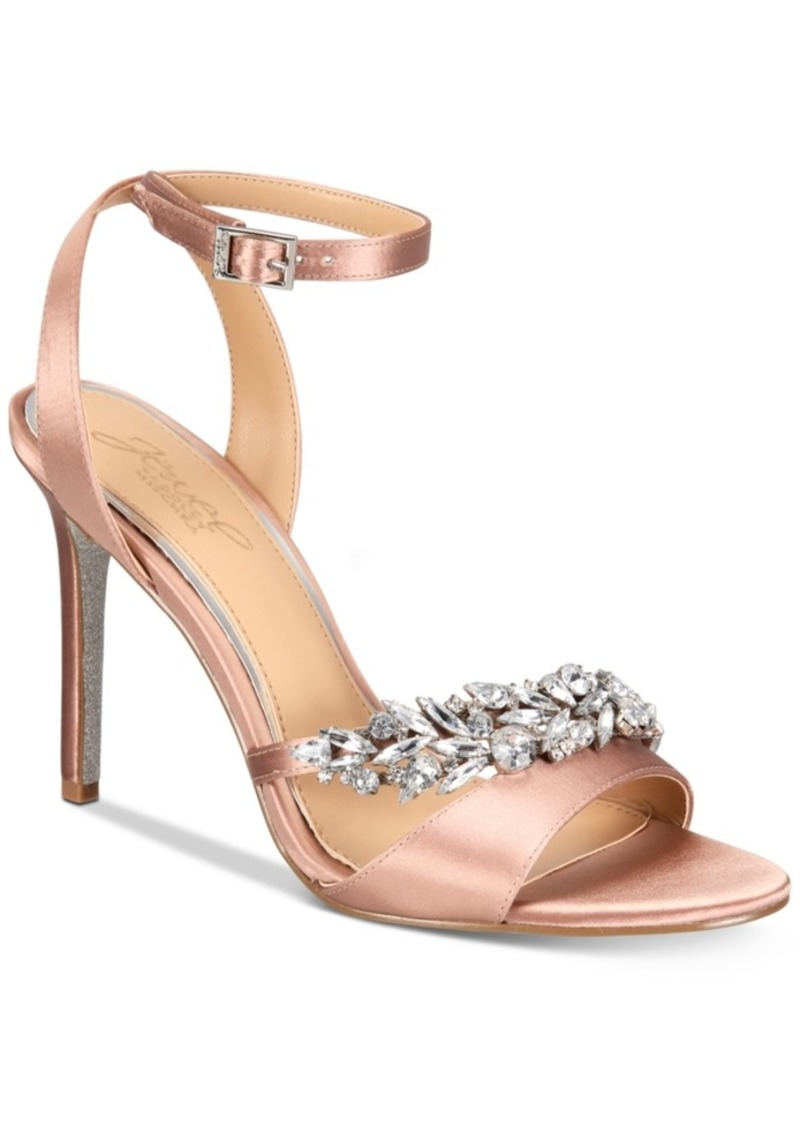 6987484daf24c Badgley Mischka Jewel Badgley Mischka Merida Evening Sandals Women s ...