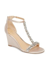 Jewel Badgley Mischka Meryl Wedge Sandal (Women)