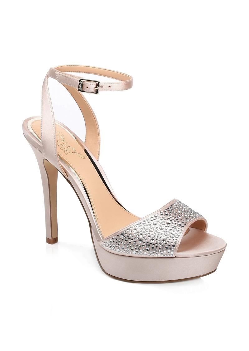 Jewel Badgley Mischka Milena Platform Sandal (Women)