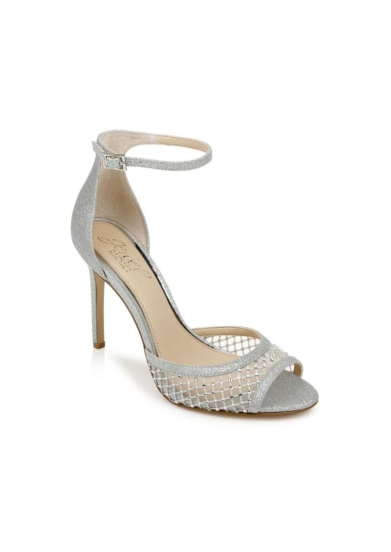 Jewel Badgley Mischka Nakisha Ankle-Strap Dress Sandals Women's Shoes