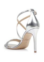 Jewel Badgley Mischka Nanna Embellished Sandal (Women)