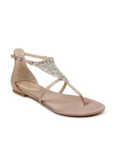Jewel Badgley Mischka Nellis Embellished Sandal (Women)