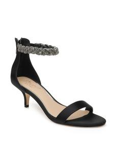 Jewel Badgley Mischka Nepeta Embellished Sandal (Women)