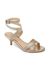 Jewel Badgley Mischka Newton Glitter Sandal (Women)