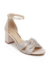 Jewel Badgley Mischka Nicollete Embellished Sandal (Women)