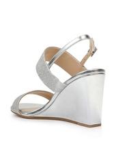 Jewel Badgley Mischka Nisa Wedge Sandal (Women)