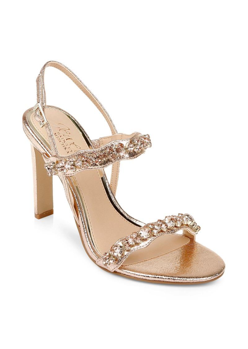 Jewel Badgley Mischka Odette Slingback Sandal (Women)