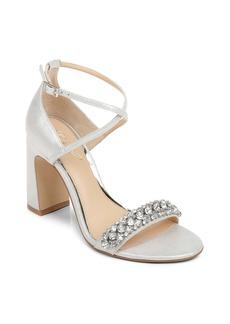 Jewel Badgley Mischka Penny Ankle Strap Sandal (Women)
