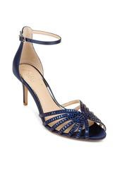 Jewel Badgley Mischka Pixie Ankle Strap Sandal (Women)