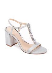 Jewel Badgley Mischka Raina T-Strap Sandal (Women)